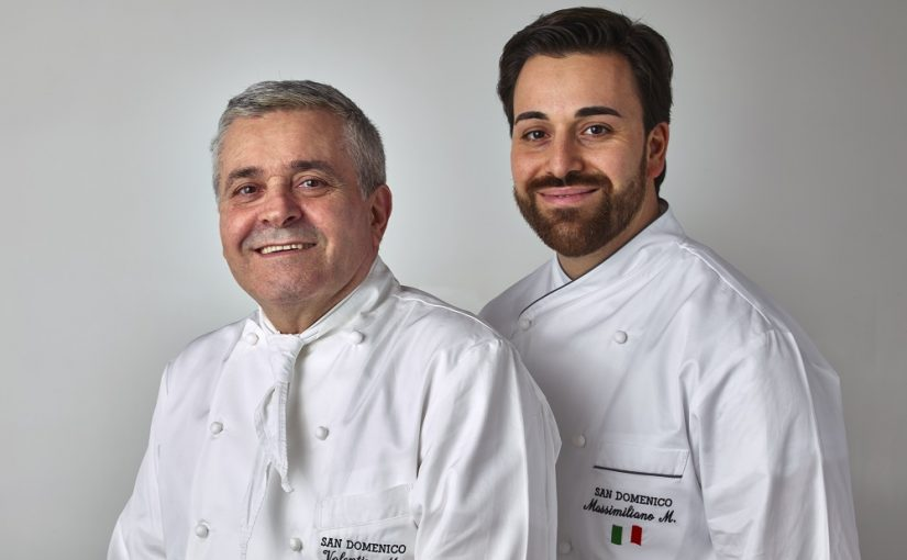 "From the uncle to the nephew, the kitchen of ""San Domenico di Imola"" is always a success. Interview with the Chef Valentino Marcattilii."