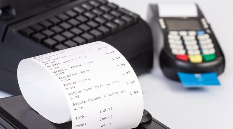 Tax receipt and electronic receipt